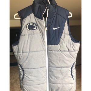 Nike Penn State Puffer Vest Size Medium